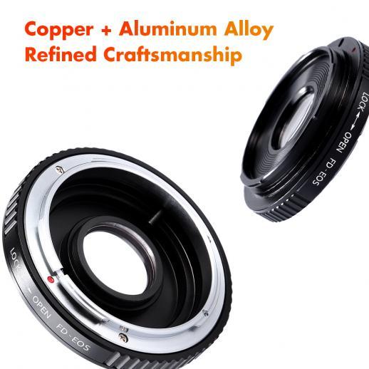 Canon FDレンズ-Canon EOSマウント マウントアダプター