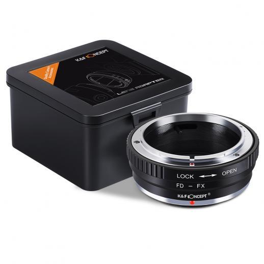 Canon FDレンズ- Fuji Xマウント マウントアダプター