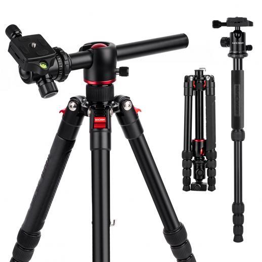 TM2515T DSLRカメラ三脚モノポットキットフィットキヤノン、ニコン