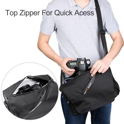 DSLRカメラ用コンパクトメッセンジャーショルダーバッグ38 * 11.5 * 28cm